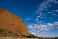 Roccia di Ayers - di Uluru Immagini Stock