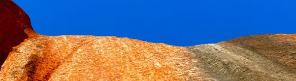 Roccia di Ayers, territorio settentrionale, Australia Fotografie Stock Libere da Diritti