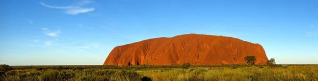 Roccia di Ayers, territorio settentrionale, Australia Immagini Stock Libere da Diritti