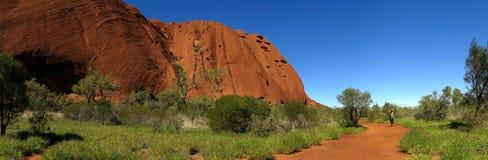 Roccia di Ayers, territorio settentrionale, Australia Immagini Stock