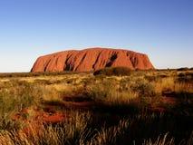 Roccia di Ayers (Uluru) Immagini Stock Libere da Diritti