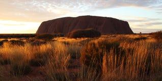 Roccia di Ayers (Uluru) in Australia fotografia stock libera da diritti