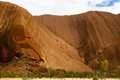 Roccia di Ayers/Uluru, Australia Fotografie Stock Libere da Diritti