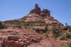 Roccia di Bell in Sedona, AZ, U.S.A. Immagine Stock Libera da Diritti