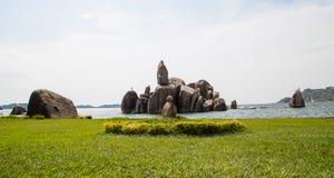 Roccia di Bismarck Immagine Stock