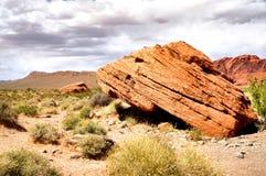Roccia di camminata Fotografia Stock