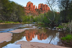 Roccia di Catherdral Fotografia Stock