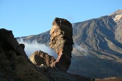 Roccia di Cinchado di Los Roques Immagine Stock