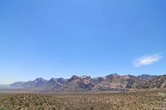 roccia di colore rosso del canyon Fotografia Stock