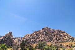 roccia di colore rosso del canyon Fotografie Stock