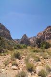 roccia di colore rosso del canyon Immagini Stock Libere da Diritti