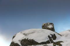 Roccia di Dovrefjell Norvegia Fotografia Stock