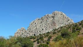 Roccia di EL Chorro Fotografia Stock
