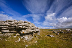 Roccia di Grassington Fotografia Stock