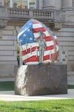 Roccia di libertà, Newton, Iowa Fotografia Stock