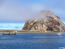 Roccia di Morro nella baia di Morro Fotografia Stock