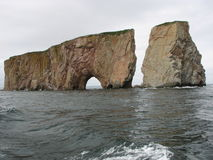 Roccia di Perce Fotografia Stock