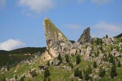 Roccia di Pieralongia Fotografia Stock Libera da Diritti