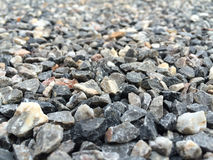 Roccia di pietra naturale del primo piano Fotografia Stock Libera da Diritti