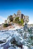 Roccia di Roche in Cornovaglia Fotografia Stock Libera da Diritti