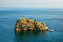 Roccia di San Giorgio Fotografia Stock