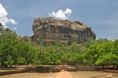 Roccia di Sigiriya Fotografia Stock Libera da Diritti