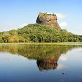Roccia di Sigiriya immagini stock