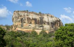 Roccia di Sigiriya, Sri Lanka Fotografia Stock Libera da Diritti