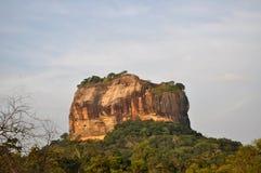Roccia di Sirigiya, Sri Lanka Fotografia Stock Libera da Diritti