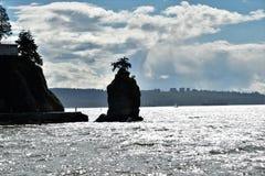Roccia di Siwash immagine stock