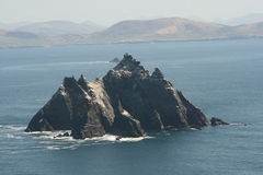 Roccia di Skellig in Irlanda immagine stock libera da diritti