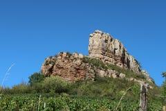 Roccia di Solutré Fotografia Stock