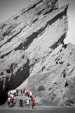 Roccia di Vasquez in California Immagine Stock