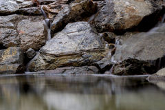 Roccia dorata Fotografia Stock