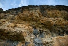 Roccia e cielo Immagine Stock Libera da Diritti