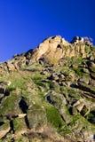 Roccia e cielo Fotografia Stock Libera da Diritti