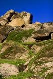 Roccia e cielo Fotografia Stock
