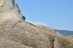 Roccia e cielo Immagine Stock