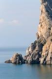 Roccia e mare Fotografia Stock Libera da Diritti