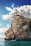Roccia e mare Fotografia Stock