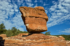 Roccia equilibrata Immagini Stock