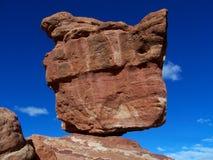 Roccia equilibrata Fotografie Stock Libere da Diritti