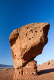 Roccia equilibrata, monumento nazionale delle scogliere Vermillion Fotografia Stock