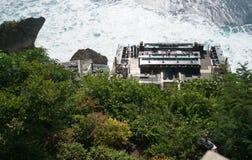 Roccia famosa Antivari della località di soggiorno Bali di Awana Fotografie Stock