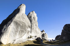 Roccia gigante in Nuova Zelanda Fotografie Stock Libere da Diritti