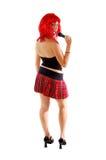 Roccia Girl3 di Glam fotografie stock