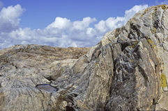 Roccia a Gothenburg Immagine Stock