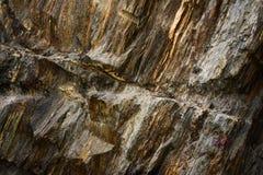Roccia grigia Fotografie Stock