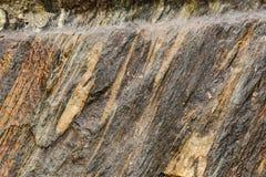 Roccia grigia Fotografia Stock Libera da Diritti