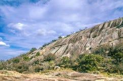 Roccia incantata il Texas Fotografia Stock